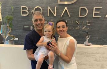 Adisa Karalić: Zahvaljujući poliklinici Bona Dea naš put do potomstva je bio siguran i lagan